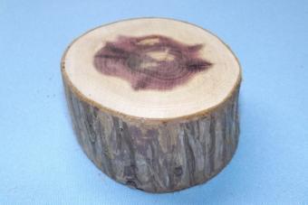 Cut your log slice.