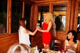 restaurant at bachelorette party