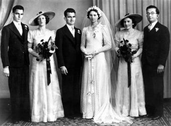 1940s Vintage Wedding Dresses