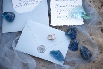 Wedding by the Sea Invitation