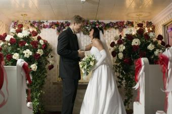 Wedding Flowers for Church Altars