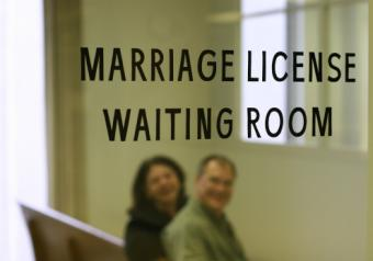 Marriage License Waiting Room