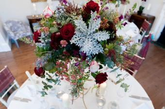 Table flower decoration