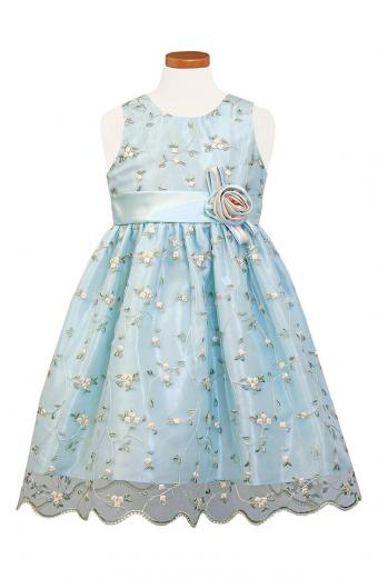 Colorful Patterned Flower Girl Dresses