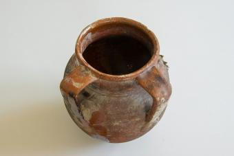 Antique ceramic pot