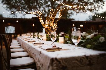 Lacey Table Décor