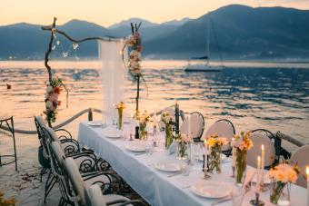 Tropical Wedding Centerpiece Ideas