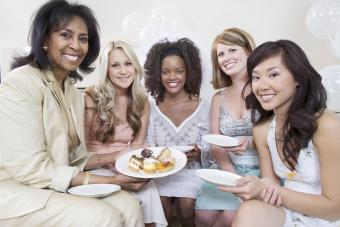 women at luncheon