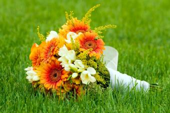 bouquet of daisies and other flowers