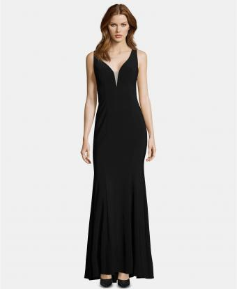 XSCAPE - Embellished Cutout Gown