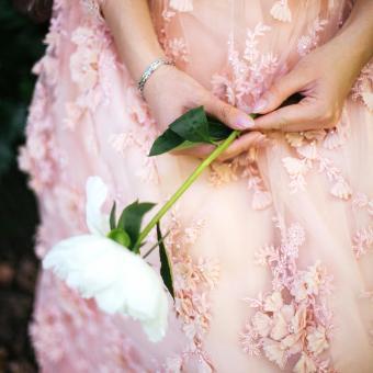 One Flower Stem for Bridesmaids