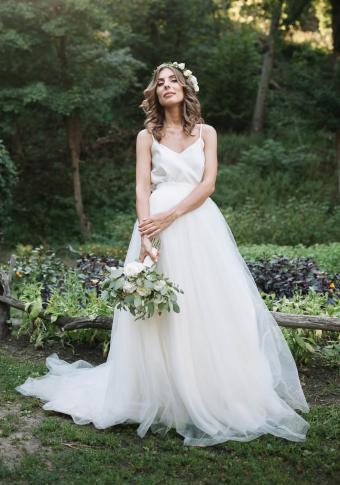 Fairy-Inspired Boho Wedding Gown
