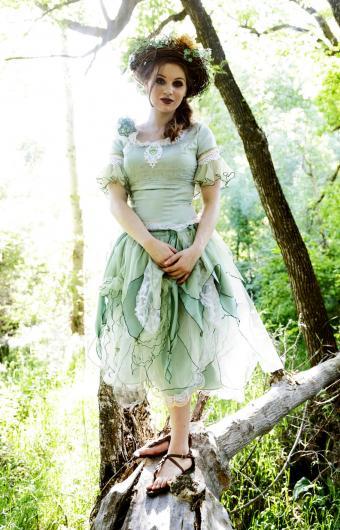 Woodland Fairy Dress