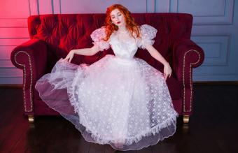 Vintage Fairy Dress