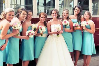 Turquoise Wedding Portraits