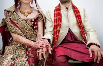 traditional Indian bridal style