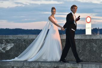 Pierre Casiraghi and Beatrice Borromeo wedding