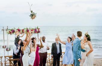 Ocean-Themed Weddings