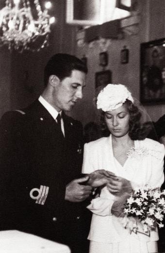 Wedding in 1941