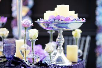 Indoor wedding party