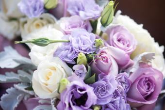 Lavender and White Bouquet