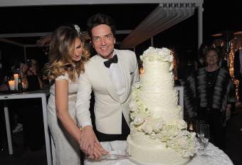 Richard Marx And Daisy Fuentes Wedding Event