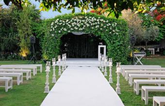 Wedding canopy outdoor
