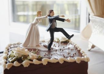 Funny Groom's Cake Toppers