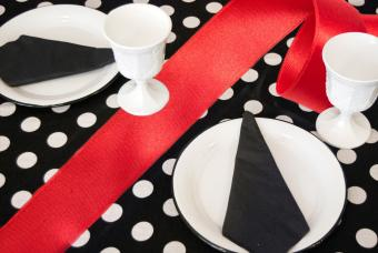 Trendy place setting