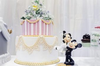 Mickey and Minnie Wedding Decorations