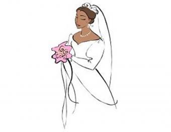 Traditional black bride