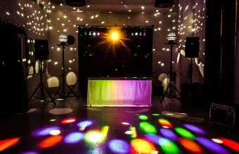 Dj setup in wedding