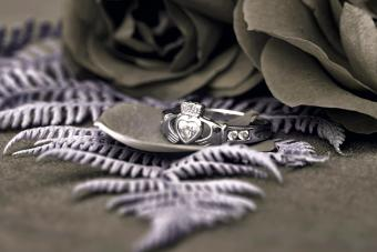 The Claddagh ring is a traditional Irish ring which represents love, loyalty, and friendship