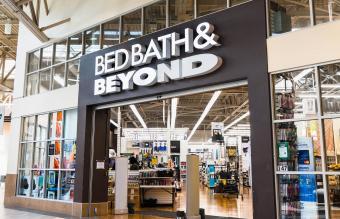 Bed Bath & Beyond store entrance