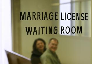 marriage license waiting