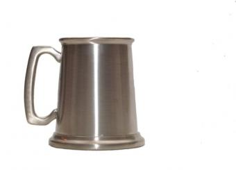 Silver mug for the best man