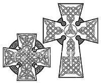 Celtic cross graphics