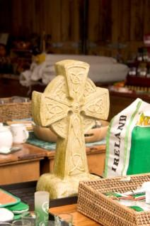 A Celtic cross for a wedding gift