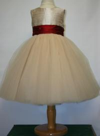 Couture Tulle Ballerina Dress © Pegeen Formal Wear for Children