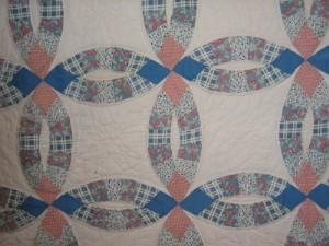 Double Wedding Ring Quilt Lovetoknow
