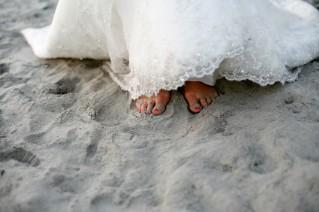 Pack your dress for a beach wedding with Sandals.