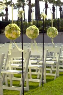 wedding aisle decorations lovetoknow. Black Bedroom Furniture Sets. Home Design Ideas