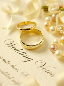 Rings And Vows Photo