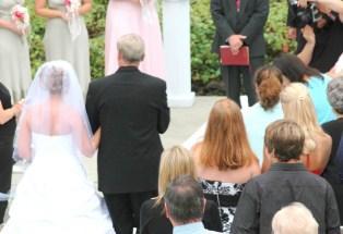 beginning of wedding ceremony