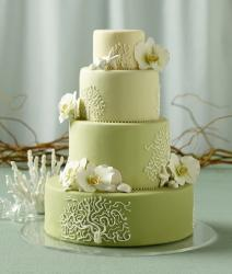 forest green wedding cake wedding cakes lovetoknow 14405