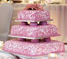 Images Of Three Tier Wedding Cakes