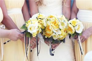 Romantic Ruffles wedding flowers