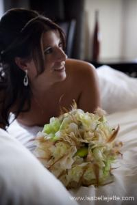 Venus wedding flowers
