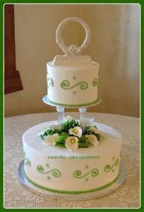 traditional irish wedding cake recipe traditional wedding cakes lovetoknow 21144