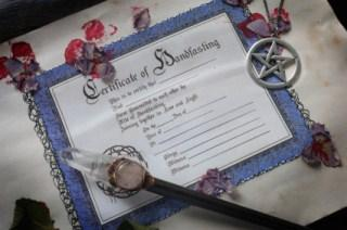 Wiccan wedding ceremonies lovetoknow wiccan handfasting junglespirit Gallery